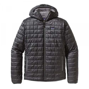 Patagonia Men's Nano Puff Hoody Forge Grey XS Closeout Sale (11-30-16)