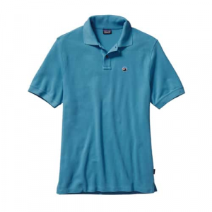 Patagonia Men's Fitz Roy Emblem Polo