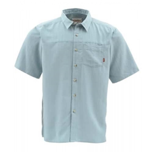 Simms Long Haul Fishing Shirt Short Sleeve Closeout Sale