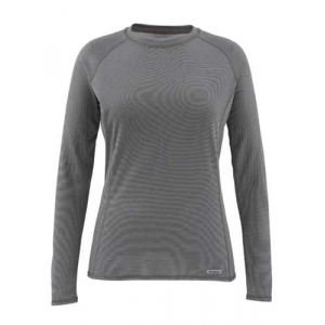 Simms Women's Waderwick Layering Core Crewneck Iron Closeout Sale