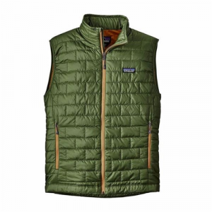 Patagonia Men's Nano Puff Vest Buffalo Green Closeout Sale(12-29-17)