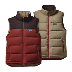 Patagonia Men's Reversible Bivy Down Vest Closeout Sale (11-28-17)