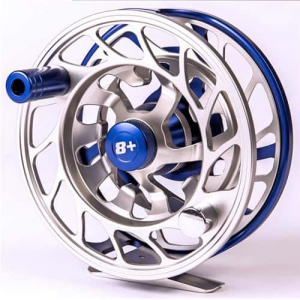 NuCast Blue Crush 8+ Fly Fishing Reel Fly Line Included