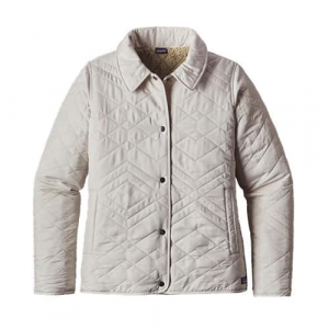 Patagonia Women's Quilted Los Gatos Jacket Forge Grey Closeout Sale (1-22-18)