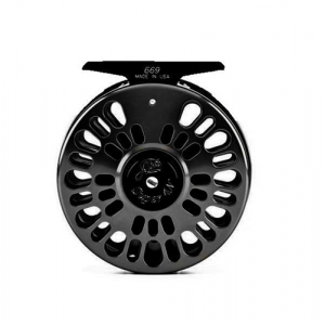 Abel Super Series Fly Reels Black Closeout Sale