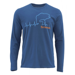Simms Bass Heartbeat Long Sleeved T-shirt (10-2-17)