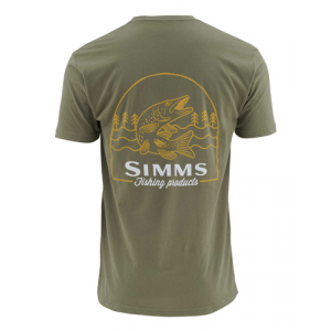 Simms Weekend Muskie Short Sleeve Tee