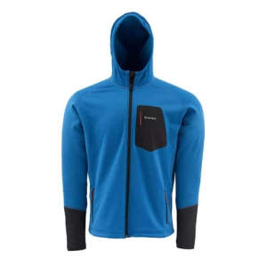 Simms Axis Hoody Tidal Blue Large Closeout Sale (1-25-18)