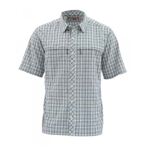 Simms Stone Cold Short Sleeve Fishing Shirt