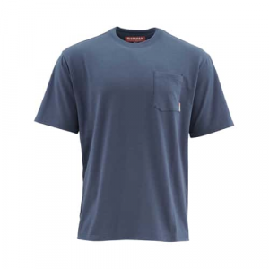 Simms Tech Short Sleeve Tee Pocket