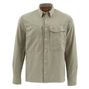 Simms Guide Long Sleeve Solid Shirt Closeout Sale(1-26-18)