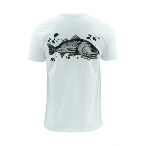Simms Artist Stockton Redfish Tee Closeout Sale(3-7-18)