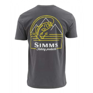 Simms Weekend Trout Short Sleeve Tee Medium Closeout Sale (3-19-18)
