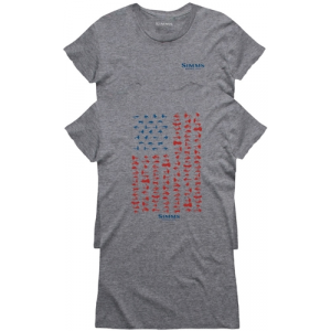Simms Women's USA Flies T-Shirt