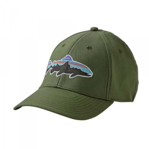Patagonia Fitz Roy Trout Stretch Fit Hat Closeout Sale