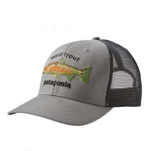 Patagonia World Trout Fishstitch Trucker Hat Closeout Sale(12-4-17)