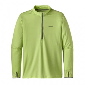Patagonia Men's Tropic Comfort 1/4 Zip Closeout Sale