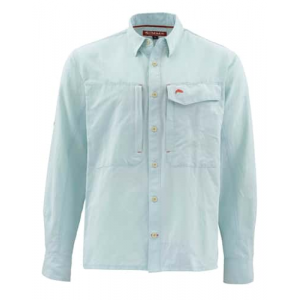 Simms Guide Long Sleeve Marle Shirt Closeout Sale