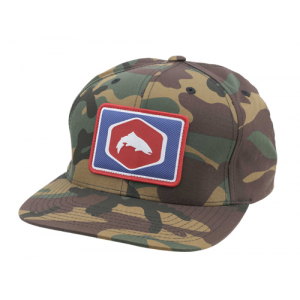 Simms Cotton Twill Patch Snapback Closeout Sale (12-18-17)