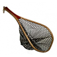 Fisknat Nets: Yak Fly Fishing Net with Lightweight Rubber Bag