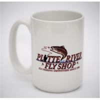 Simms Coffee Cup with Platte River Fly Shop Logo (2-20-17)