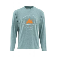 Simms Graphic Tech Long Sleeve Tee Closeout Sale(12-12-17)