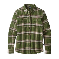 Patagonia Women's Long-sleeved Fjord Flannel Shirt (6-6-18)