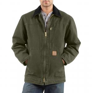 photo: Carhartt Sandstone Ridge Coat/Sherpa-Lined jacket