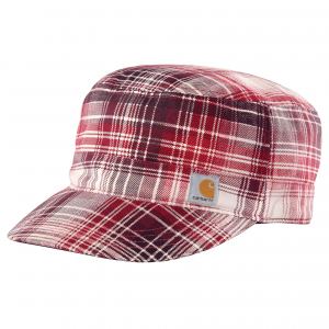 photo: Carhartt Plaid Military Cap cap