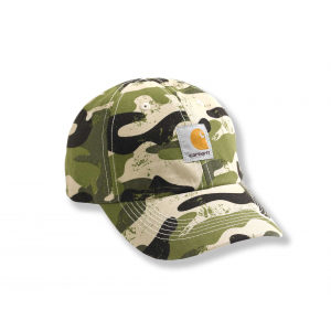 photo: Carhartt Signature Camo Canvas Cap cap