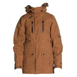 Ripzone Atlas w/Faux Fur Mens Insulated Snowboard Jacket