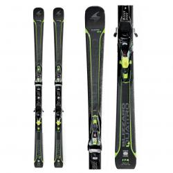 Blizzard Quattro 7.2 Ti Skis with X Cell 12 Bindings 2018