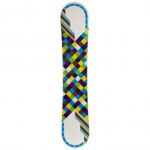 JoyRide Checkers White Blue Womens Snowboard