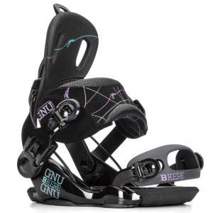Gnu Be-Here Womens Snowboard Bindings