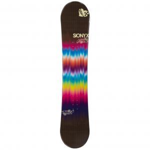 Sionyx Tie Dye Brown Womens Snowboard