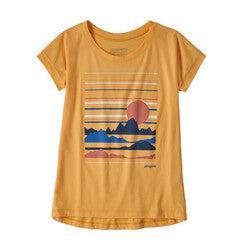 Patagonia Girl's Graphic Organic T-Shirt Spring 2020