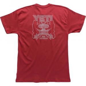 YETI Coat Of Arms Tee Mens T-Shirt