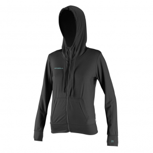 O'Neill 24-7 Hybrid Zip Hoodie Womens Rash Guard