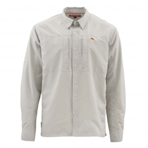 Simms Bugstopper Long Sleeve Solid Mens Shirt