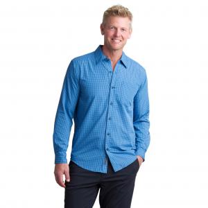 ExOfficio Salida Plaid Shirt Long Sleeve Mens Shirt