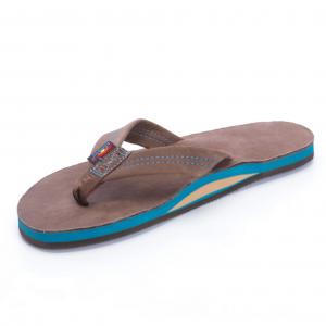 Rainbow Sandals Premier Blues Mens Flip Flops