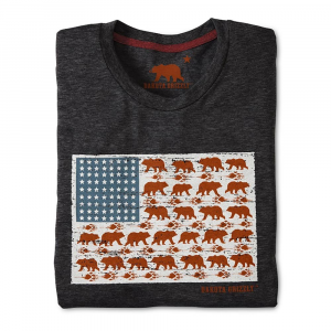 Dakota Grizzly Stars & Bears Mens T-Shirt