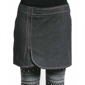 Purnell Wool Zip Skirt