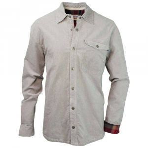 Purnell Corduroy Slate Mens Shirt