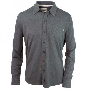 Purnell Jersey Knit Button-Up Mens Shirt