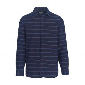 Woolrich Eco Rich Indigo Look Flannel Shirt