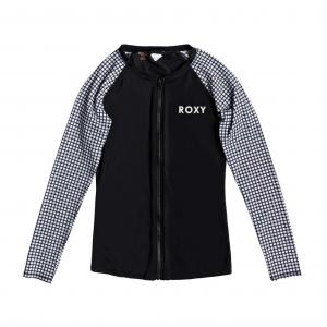 Roxy Long Sleeve Zipper Fashion Womens Rash Guard
