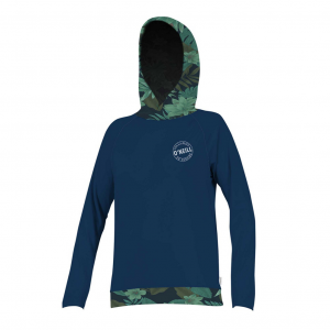 O'Neill Print Long Sleeve Hoodie Womens Rash Guard