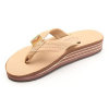 Rainbow Sandals 4-Layer Wedge Premier Leather Womens Flip Flops