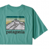Patagonia Line Logo Ridge Pocket Mens T-Shirt